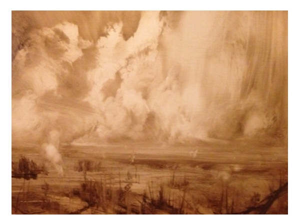 'Fallen Trees' Oil on Panel 80x60cm