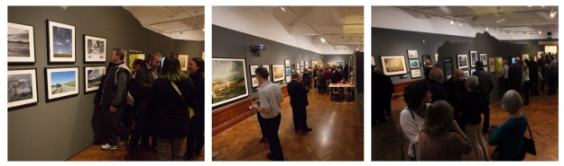 Andrew talking about his photographs and other views of the gallery open!